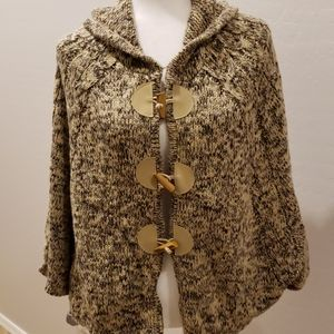 BCBGMaxAzria Knit Cape